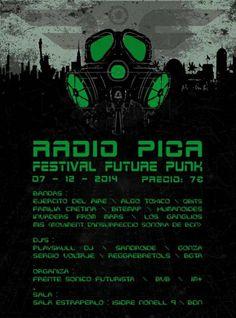 Festival organizado por el Frente Sónico Futurista con BVB y 1m+kladydi.