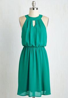 City Sway Dress in Emerald | Mod Retro Vintage Dresses | ModCloth.com