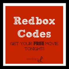 Free Redbox {updated for 2013}