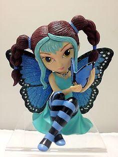 Peaceful Flutters Fairy Figurine Jasmine Becket Griffith Bradford Exchange