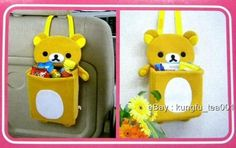 San x Rilakkuma Relax Bear Car Bedroom Storage Hanger | eBay