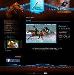 Les écuries de Saint-Brévin. Réalisé par StartUp sous Izi-media. www.ecuries-st-brevin.com