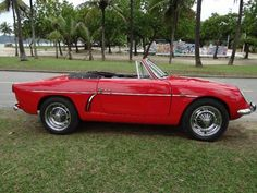 This 1964 Willys Interlagos convertible is one of 822 Brazilian license-built Alpine A108 variants made over a five year period ending in 1966. http://bringatrailer.com/2015/02/22/brazilian-alpine-1964-willys-overland-interlagos-cabrio/