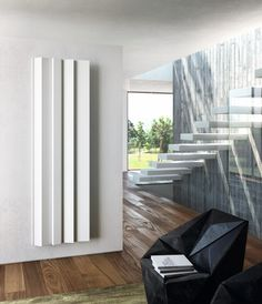 Vertical panel wall-mounted radiator ANDROID - @antraxit