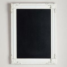 One of my favorite discoveries at WorldMarket.com: Georgina Ornate Chalkboard