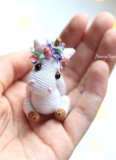Crochet Unicorn Pattern Free, Crochet Animal Patterns, Stuffed Animal Patterns, Crochet Blanket Patterns, Crochet Animals, Free Pattern, Dinosaur Stuffed Animal, Cute Crochet, Crochet For Kids
