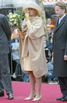 30 april 2002 - Hoogeveen en Meppel - Máxima op Koningsdag - Nieuws - Fashion