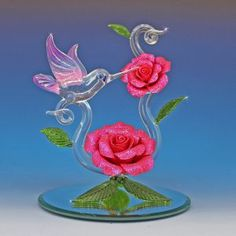 Glass Gallery online store featuring hand blown glass and crystal collectible gift items including hand blown and handmade glass and crystal animals, figurines, ornaments, and laser engraved crystal gifts. Glass Bird Bath, Glass Birds, Crystal Decor, Crystal Gifts, Glass Cube, Glass Art, Landscape Pencil Drawings, Cheap Crystals, Hummingbird Art