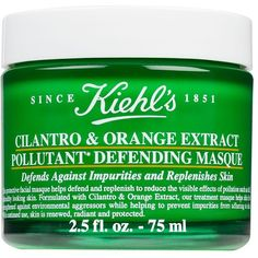 Kiehl's Since 1851 Cilantro & Orange Extract Pollutant Defending... ($39) ❤ liked on Polyvore featuring beauty products, skincare, face care, face masks and kiehl's face mask