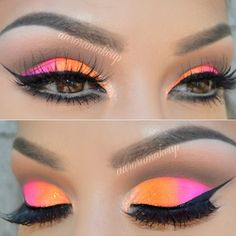 Want sexy eyes makeup for your next night out? We have collected a great gallery of makeup looks for various occasions. Get inspired with our ideas. Sexy Eye Makeup, 80s Makeup, Makeup Eye Looks, Love Makeup, Makeup Inspo, Eyeshadow Makeup, Makeup Inspiration, Beauty Makeup, Hair Makeup