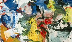 """Willem de Kooning, """"Untitled V,"""" 1975 to be auctioned at Sotheby's Nov. 13, 2013 in NYC"""
