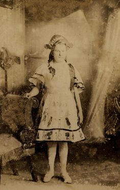1906 - May Ashby aged 10 in fancy dress costume Ancestry, Fancy Dress, Age, Costumes, Skirts, Pictures, Dresses, Fashion, Whimsical Dress