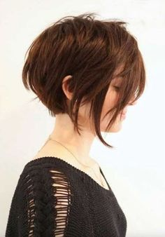 Love Short hairstyles for thick hair? wanna give your hair a new look ? Short hairstyles for thick hair is a good choice for you. Here you will find some super sexy Short hairstyles for thick hair, Find the best one for you, Popular Short Haircuts, Cute Short Haircuts, Short Hairstyles For Women, Hairstyles Haircuts, Pixie Haircuts, Long Pixie Hairstyles, Layered Hairstyles, Trendy Haircuts, School Hairstyles