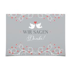 Dankeskarte Taubenherz in Koralle - Postkarte flach #Hochzeit #Hochzeitskarten #Danksagung #elegant #Foto #modern https://www.goldbek.de/hochzeit/hochzeitskarten/danksagung/dankeskarte-taubenherz?color=koralle&design=fdf57&utm_campaign=autoproducts