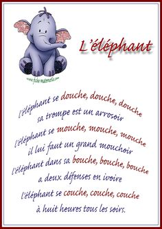 Poésie en maternelle Autism Education, Education Quotes, Social Stories, Educational Activities, Zoo Animals, Elephant, Told You So, Teddy Bear, Classroom