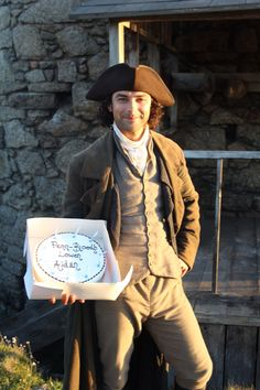 bbcone:  Happy Birthday to Aidan Turner who celebrated his birthday on the set of BBC One's #Poldark today.