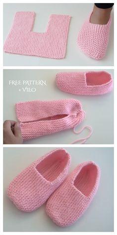 Knitted Socks Free Pattern, Easy Knitting Patterns, Crochet Stitches Patterns, Knitting Stitches, Knitting Socks, Free Knitting, Baby Knitting, Crochet Baby, Baby Set