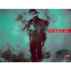 Amazon.com: Justified 32x24 TV Show ArtPrint Poster 008C: Home & Kitchen