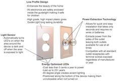 This pin lists some of the features and benefits of the SnapRays Guide-Light