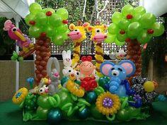 Jungle balloons.