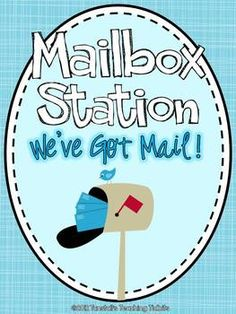 Mailbox Station Letter Writing $ Loads of stationery for letter writing!