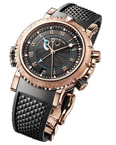Breguet Marine Royale watch with rose gold; absolutely classy