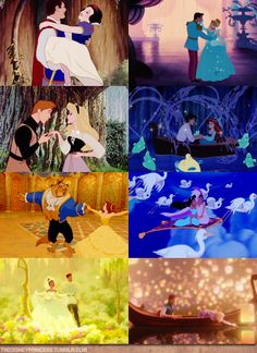 I fell in love with Disney.  how can you not believe in fairytales?just look at em :)