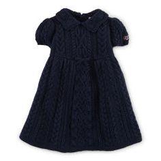 Babydoll Cotton Sweater Dress - Baby Girl Dresses & Skirts - RalphLauren.com