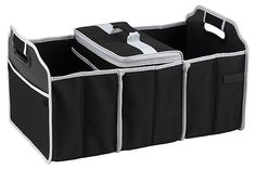 Trunk Organizer and Cooler, Black | Picnic at Ascot | One Kings Lane