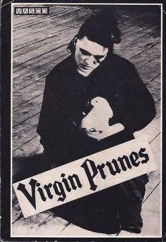 Virgin Prunes postcard