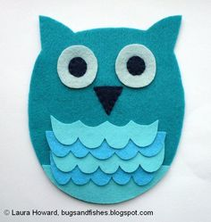 We told you, we love owls!   Look how cute this is!! aww!! Whoo, hoooo! :D
