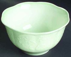 (2) Butterfly Meadow Leaf Rice Bowl (SKU: 691709/6128151)