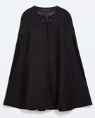 BUTTONED CAPE COAT - Coats - Outerwear - WOMAN | ZARA United States