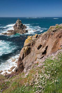 Land's End - Cornwall, England.my fav coast Cornwall England, Yorkshire England, Yorkshire Dales, England Uk, London England, Lands End Cornwall, Beautiful World, Beautiful Places, Costa