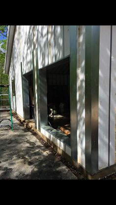We had to have a local metal shop to make corners and next to Windows to secure siding to