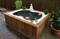 If you can do raised beds, why not make a raised pond? #OBI Selbstgemacht! Blog. Selbstbauanleitung für jedermann.