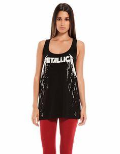Bershka Portugal - T-shirt Bershka Metallica