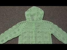 Suéter 3 a 4 años Crochet parte 2 de 4 - YouTube