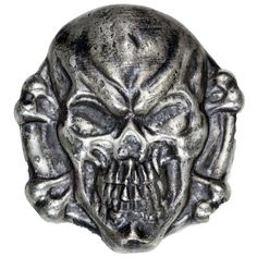 3 oz MK Barz Hand Poured Walk the Plank Silver Skull from JM Bullion™ Walking The Plank, Silver Bars, Lion Sculpture, Skull, Pure Products, Statue, Stuff To Buy, Sculptures, Sugar Skull