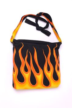 FLAMES   Handmade bag by Mishonki