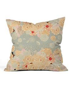 Créme de la Créme Throw Pillow #zulily #zulilyfinds