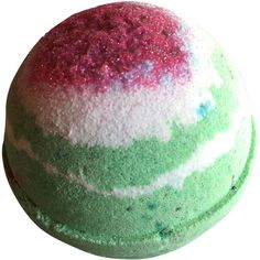 Watermelon Bath Bomb 9 Oz Bubbling Bath Bomb Comes Wrapped in a Bag... ($1.50) ❤ liked on Polyvore featuring beauty products, bath & body products, body cleansers, bath & beauty, bath bombs, filler, grey, soaps and bubble bath