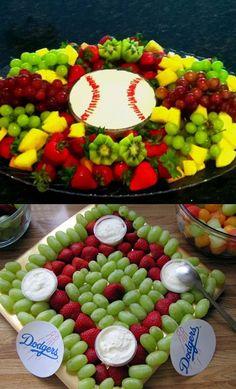 cute veggie and fruit tray ideas