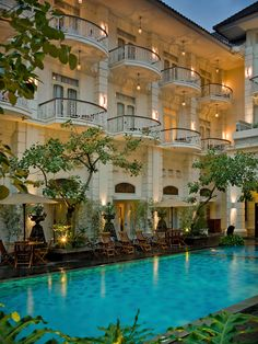 Boutique Hotel The Phoenix Yogyakarta, Java, Indonsia.