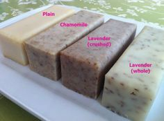 How to develop your own soap recipe