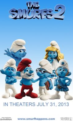The Smurfs 2✌I wanna see it!!!