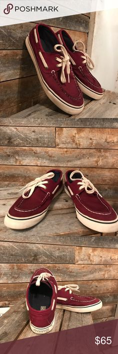 Shoes Maroon women's sperry's Sperry Top-Sider Shoes
