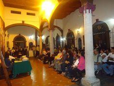 Conferancia organizada por el Consejo Ciudadano del Ecomuseo en la Casa de la Cultura de Ixtlán del Río, Nayarit.
