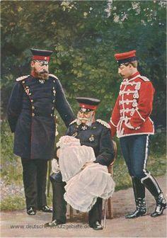 L-R: Friedrich III (Fritz), Crown Prince Friedrich Wilhelm (the baby), Wilhelm I, and Wilhelm II of Prussia.
