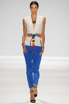 Mara Hoffman Spring 2014 Ready-to-Wear Collection Slideshow on Style.com #FFR